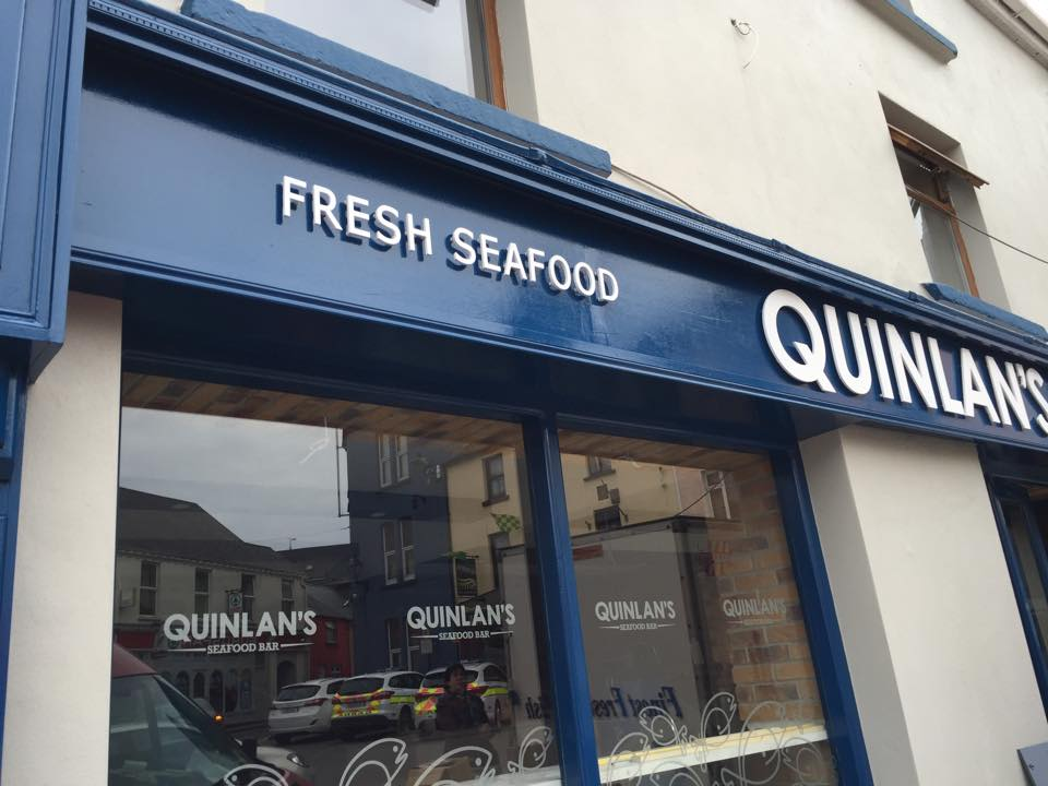 As well as numerous shops and seafood bars, the family also owns a restaurant in Cork.