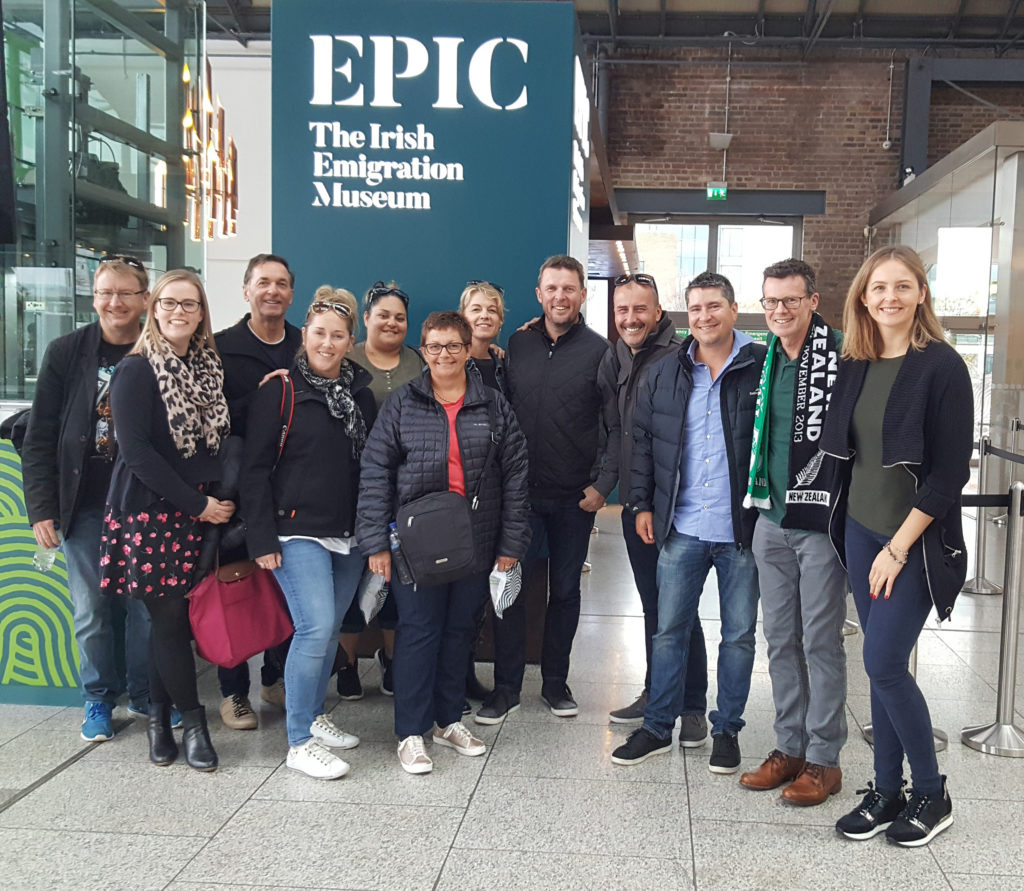 New Zealand Travel Agents Visit Ireland