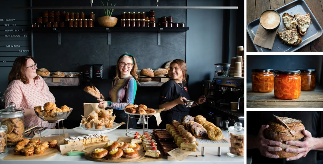 The kitchen team at Marmalade Bakery, Galway