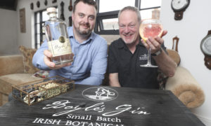 L-R: Jack Fitzmaurice, Buying Director; Aldi Ireland, Peter Mulryan, CEO, Blackwater Distillery.