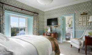 The Classic River Room at Ballynahinch Castle Hotel