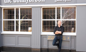 Chef Oliver Dunne outside The Donnybrook restaurant, Dublin