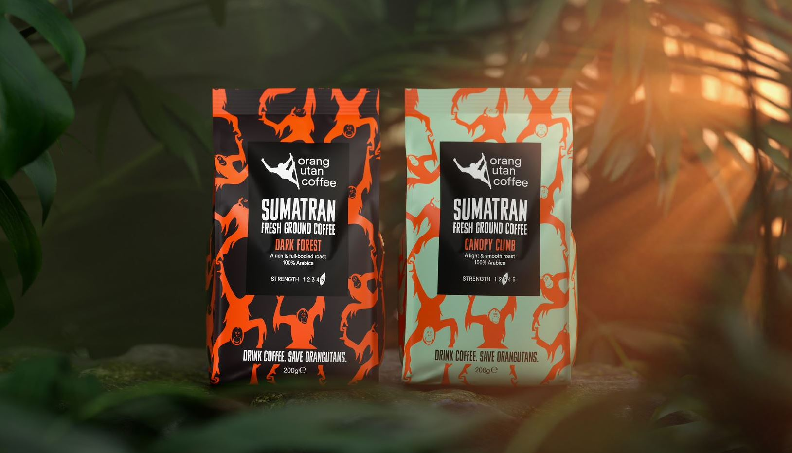 Orang Utan Coffee Packs