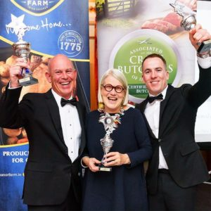 Kerrigan's Butchers picking up Butcher of the Year Award with Darina Allen
