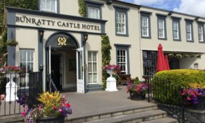 Outside view of Bunratty Castle Hotel