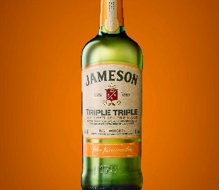 A bottle of Jameson Triple Triple