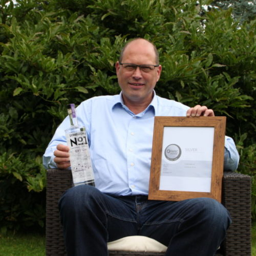 Dr Ulrich Dyer of The Woodlab Distillery