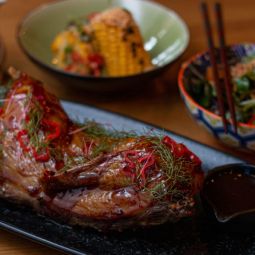 Asian inspired food at Dublin's Cleaver East restaurant