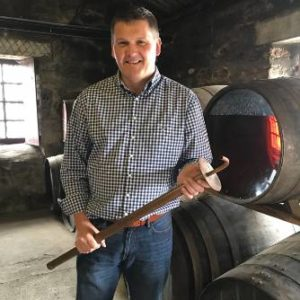 Graham Coull, Master Distiller at the Dingle Distillery