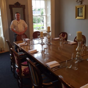 Jim Mulholland, Chef Owner at No 14 Restaurant Comber