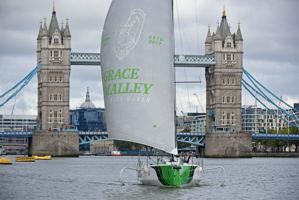 Joan Mulloy Believe in Grace boat