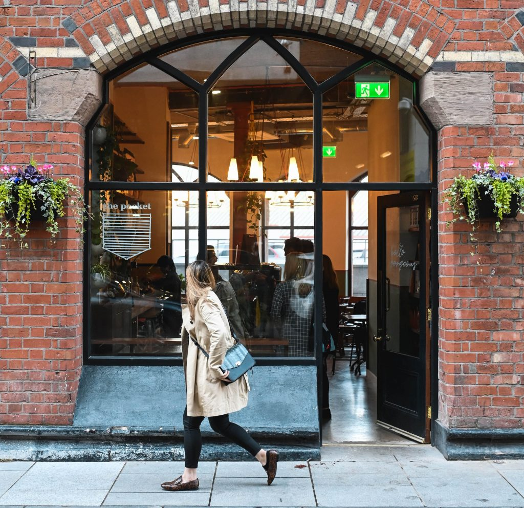Outside view of The Pocket at Flatiron, Belfast