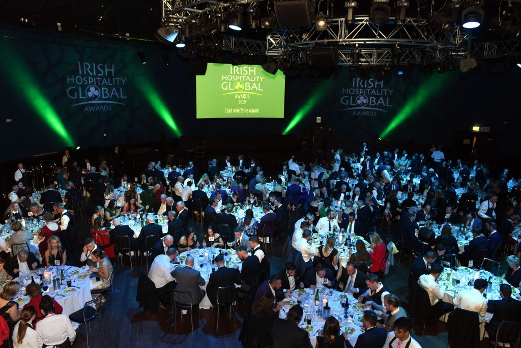 Irish Hospitality Global Awards 8th October 2019