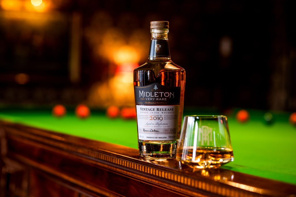A bottle of Midleton Very Rare 2019