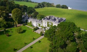 Glin Castle Aerial View