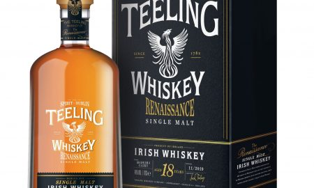 A bottle of Teeling Whiskey Renaissance