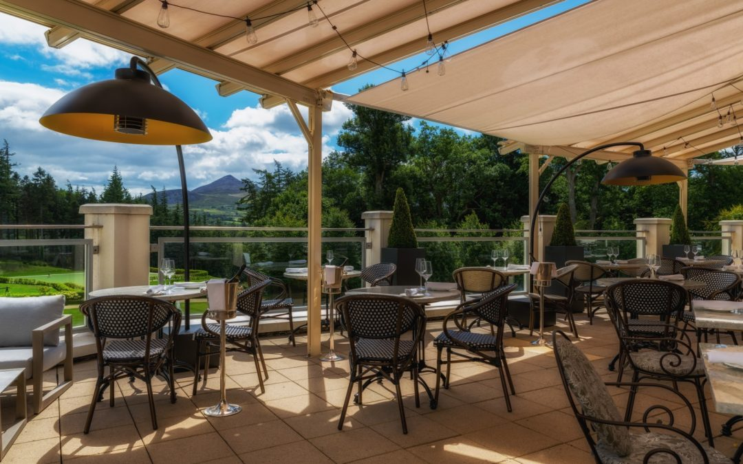 New Outdoor Dining Options at Powerscourt Hotel