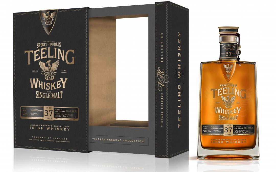 Teeling Whiskey Releases Extremely Rare 37 Year Old Single Malt