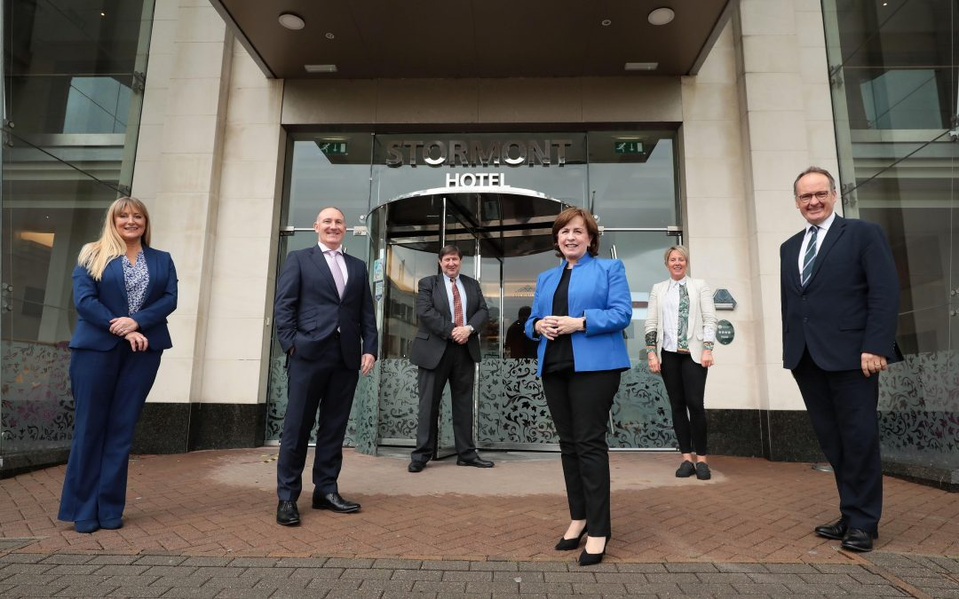 Minister Dodds Takes Part in Visit Belfast Board Meeting