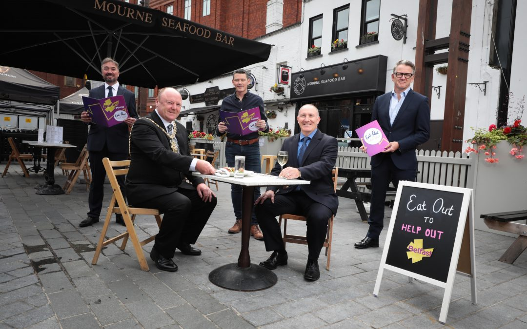 Eat Out to Help Out Launches in Belfast
