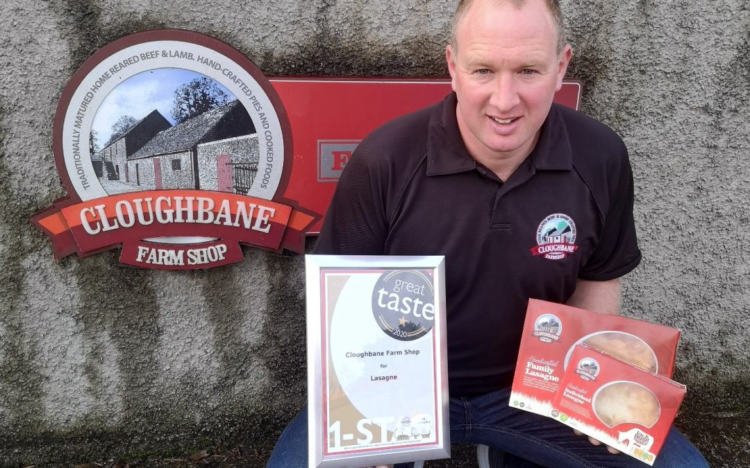 Gold Star for Cloughbane at Great Taste Awards