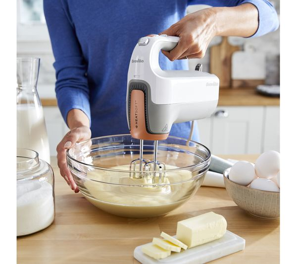 Bake up a storm with the Breville HeatSoft Hand Mixer