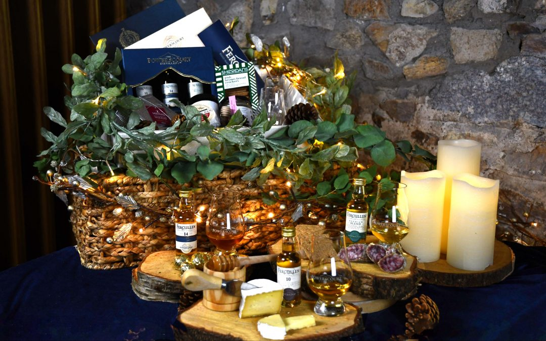 Whiskey & Food Pairing Hampers from Powerscourt Distillery
