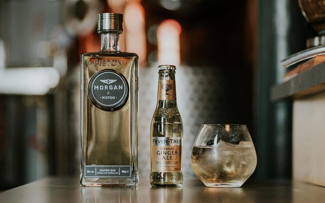 Piston Distillery Releases World's First Ash-infused Gin