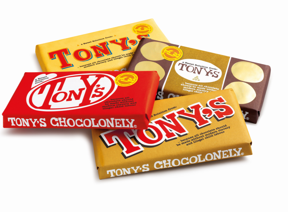 Tony's Chocolonely's New Bars Aid in Call for Human Rights Legislation