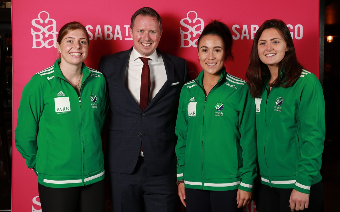 Saba Renews Women's Senior Irish Hockey Team Partnership