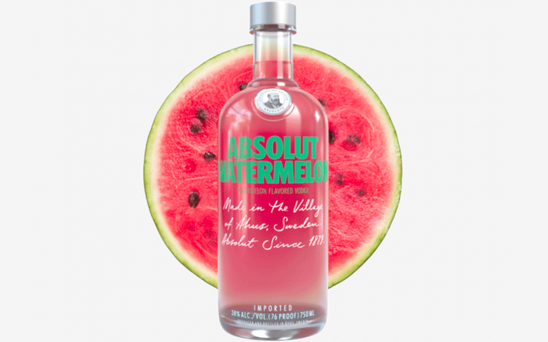Malibu Rum and Absolut Vodka Launch New Watermelon Flavors