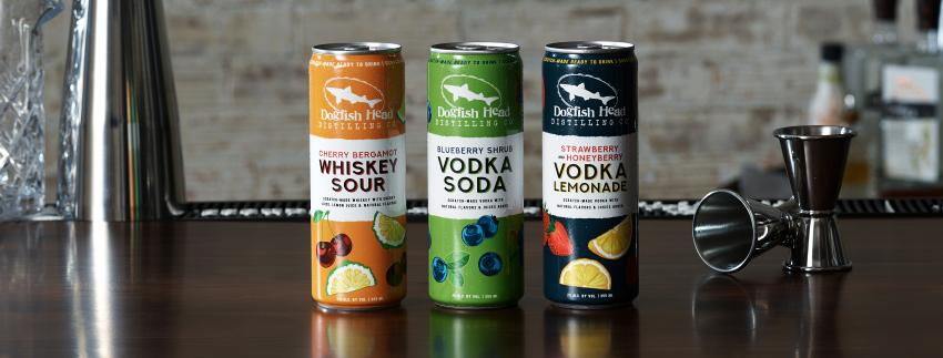 Dogfish Head Distillery Releases Canned Cocktails Range