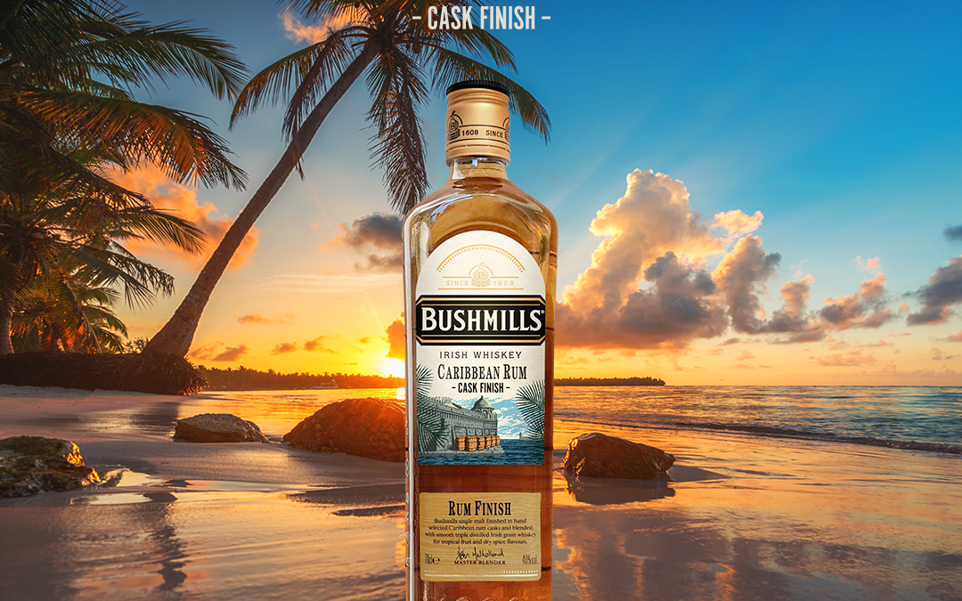 Summer arrives early with the launch of the new Bushmills Caribbean Rum Cask Finish