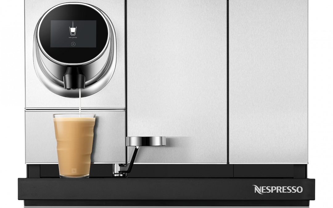 New Products, Website, for Nespresso Professional