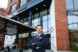 Andrew Moore Appointed as GM to Conrad Dublin