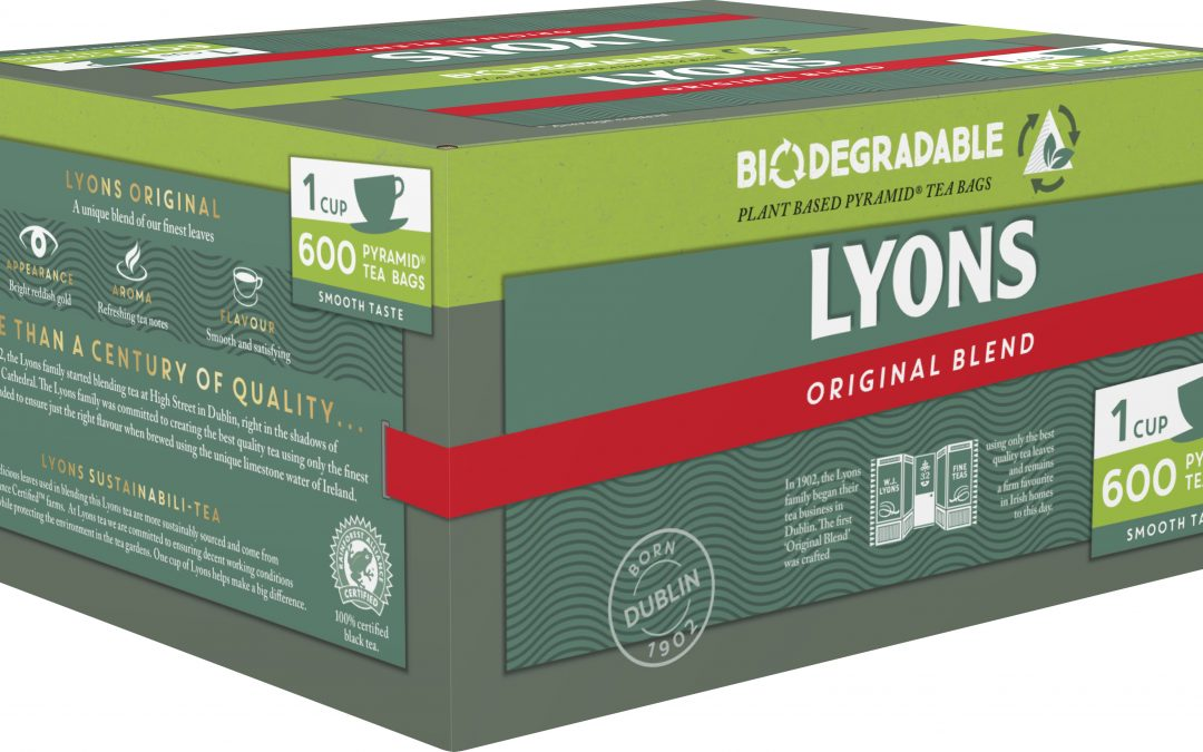 Lyons Tea Introduces Plant-based and Biodegradable Teabags to its Foodservice Range