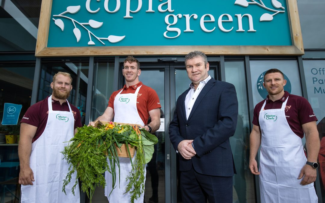 Master Chefs Partners with Munster Rugby
