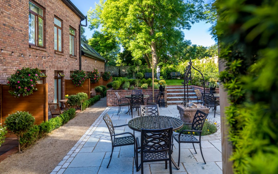 Stauntons on the Green Offering Private Garden Hire