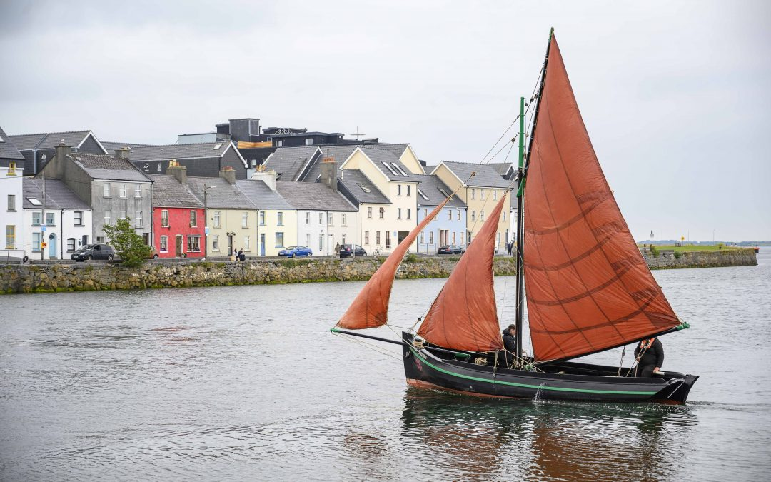 Star of Galway Launched off Galway's Westend