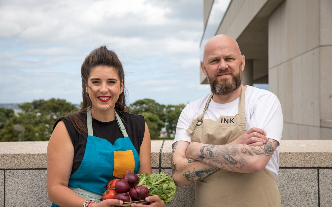 Conor Spacey & Erica Drum Join Forces to Host Zero Waste Week Supper Club