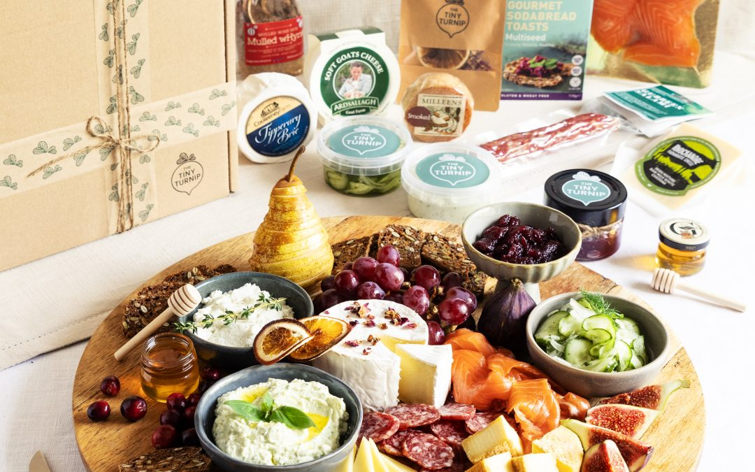 The Tiny Turnip Launches Curated Christmas Grazing Gift Box